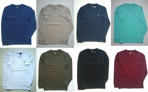 Men Polo Ralph Lauren LONG SLEEVE T-Shirt Size S M L XL XXL - NEW