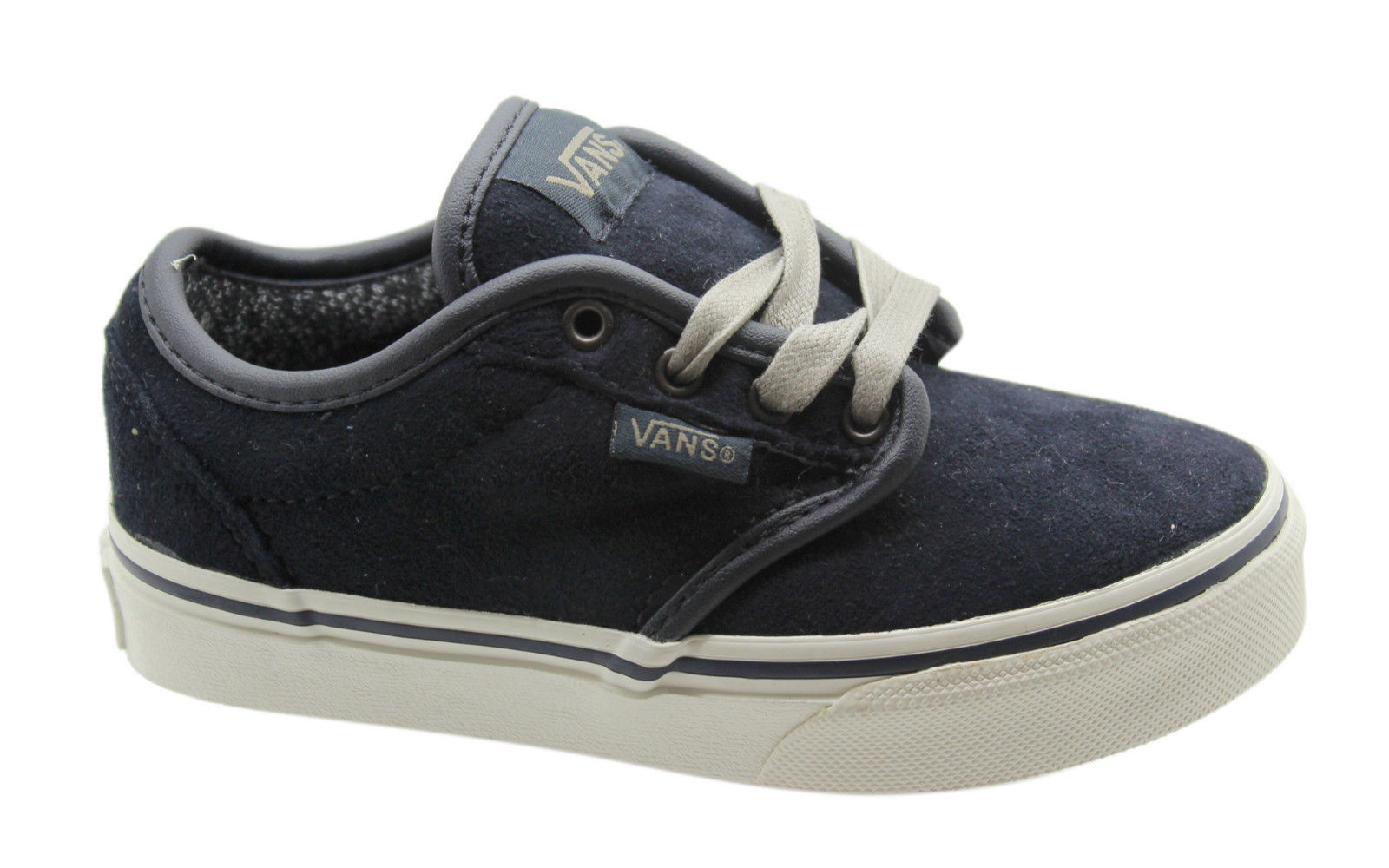 06a3ff47fa Vans Off The Wall Atwood Suede MTE Kids Junior Lace Up Canvas ...