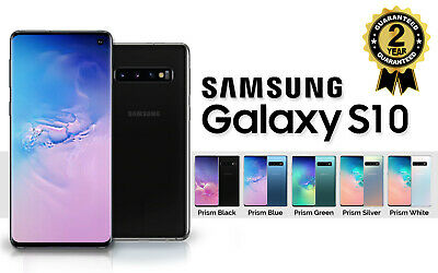 NEW SAMSUNG GALAXY S10 SM G973F 128GB DUAL SIM FREE UNLOCKED PHONE SEALED BOXED