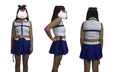 Hot Fairy Costumes (Hot Fairy Tail Lucy Heartfilia Cosplay Costume WITH)