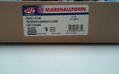 Qlt By Marshalltown Round-it Tool 5 X 10 Ri335 14335 127 X 254mm New