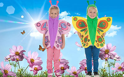 Pink Yellow Butterfly fancy dress up BNWT 3-7yrs Book Week Dance Costume Insect](Butterfly Dress Up Costumes)