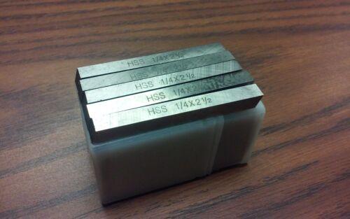 "30pcs 1/4 x 1/4  x 2-1/2""  HSS Square tool bits for $29.00 #HS-2BT-14---new"