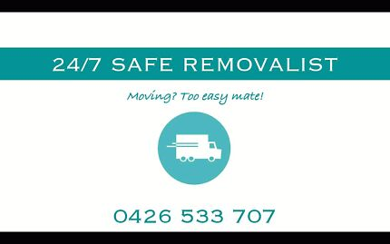 24/7 Safe Removalist Adelaide