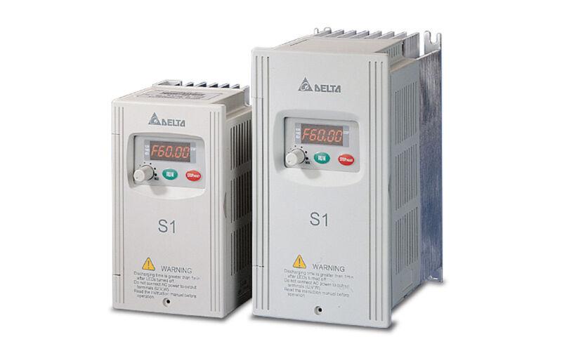 Delta Vfd-002s21a Frequency Inverter Drive 1ph 1/4hp 230v