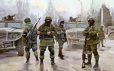 ZVEZDA 3665 MODERN RUSSIAN INFANTRY POLITE PEOPLE CRIMEA OPERATION 1/35 NEW