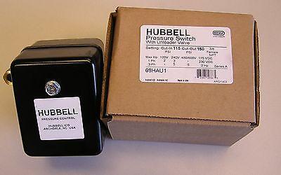 69hau1 Air Compressor Pressure Switch 115-150psi Wunloader Furnashubbell Usa