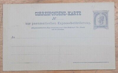 MayfairStamps Austria 10 Kreuzer Mint Stationery Card wwo79407
