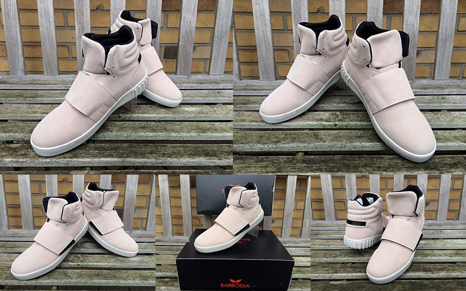 be53eb92fd5263 YOUNG FASHION BARBOSSA STREET CLUB SKATER STYLE BOOTS MODE HERREN SNEAKER  SCHUHE