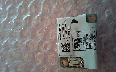 YW011 E93908 GENUINE ORIGINAL DELL MODEM CARD LATITUDE E6420 SERIES