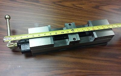 4 Double Lock Cnc Precision Vise 20 Overall Length 8500-dl4-s - New