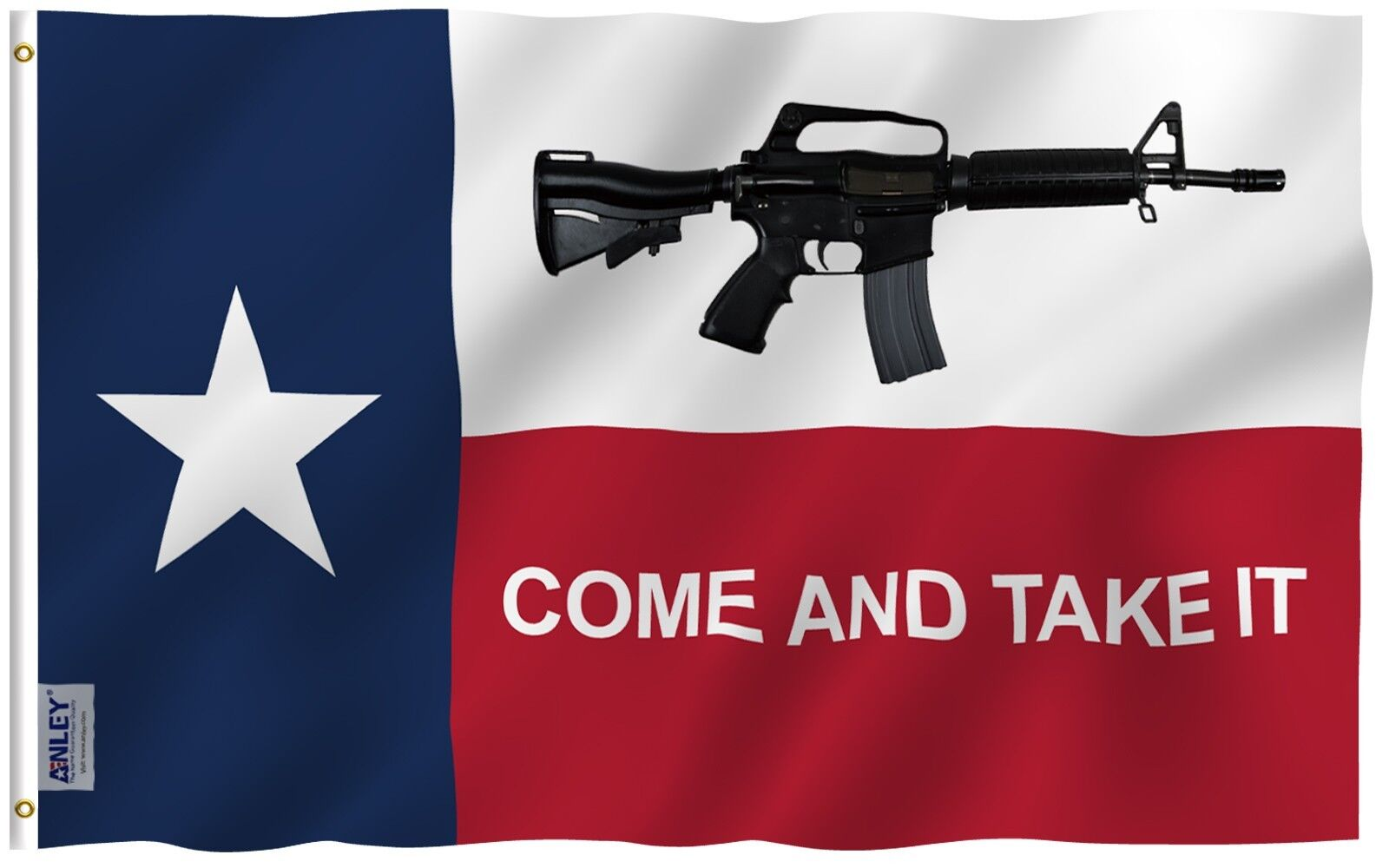 Anley Fly Breeze| 3x5 Foot Come And Take It Texas Flag, Poly