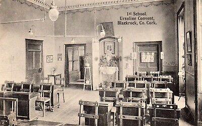 1st SCHOOL URSULINE CONVENT BLACKROCK CO. CORK IRELAND IRISH POSTCARD