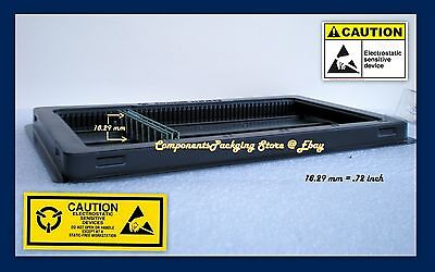 Low Profile Memory Tray Case for DDR DDR2 DDR3 DIMM Modules - Lot of 2 3 6 & - Vlp Dimm Memory