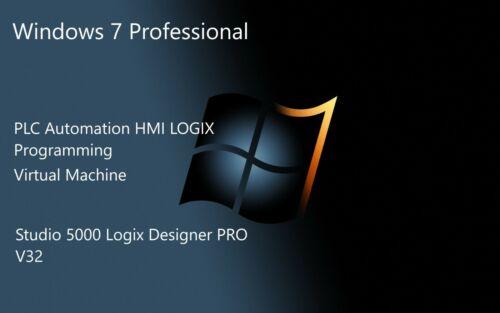 Industrial Automation PLC LOGIX Programming software Studio PRO 5000 V32  VMWARE