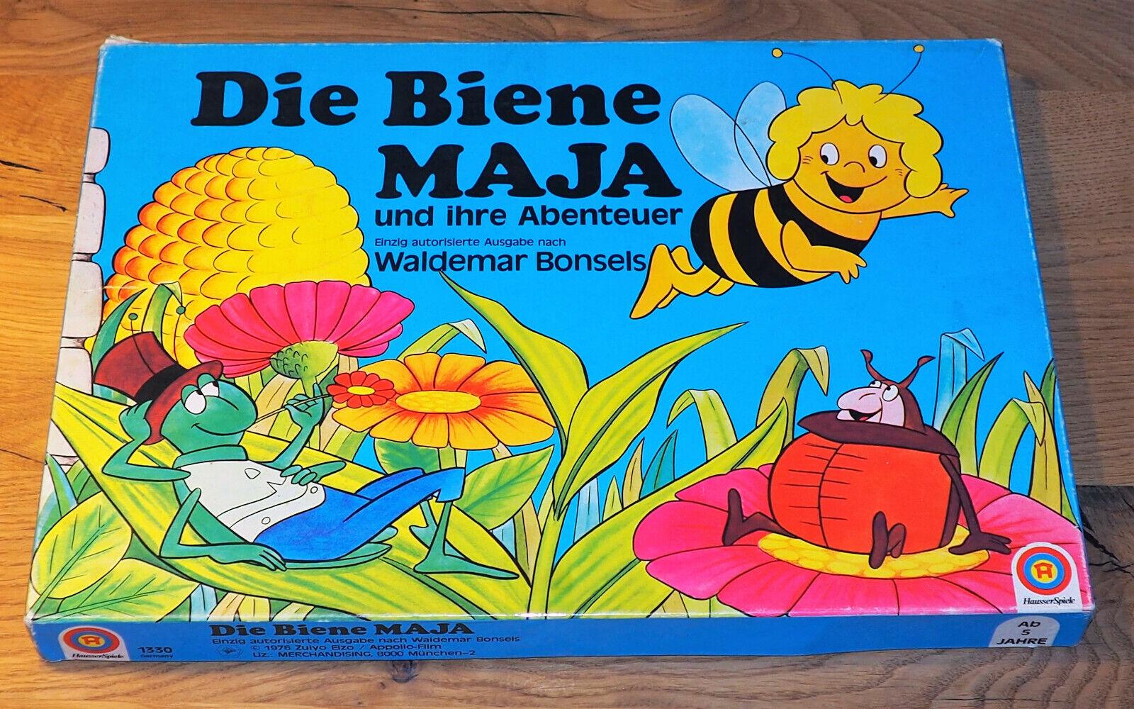 Die Biene Maja und ihre Abenteuer,1976,Hausser,1330, einzig autorisierte Ausgabe