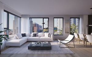 4 1/2 Condo- Downtown Montreal  Electricity+Hot water+Internet