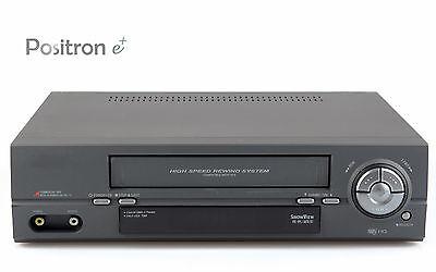 VHS Videorecorder mit Fernbedienung, Videorekorder + gewartet, 1 Jahr Garantie +