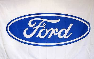 FORD AUTO 3'X 5' POLY FLAG