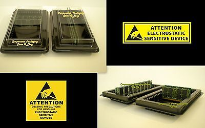 Memory Storage Packaging Tray for DDR DIMM FBDIMM RAM Modules Lot of 5 10 20 45  Ddr Dimm Ram Module