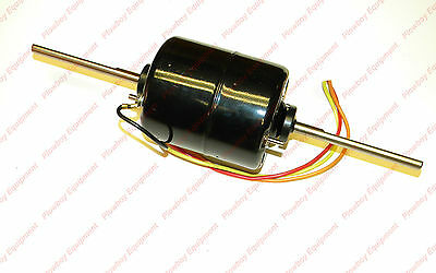 Cab Fan Blower Motor For New Holland Tractor Tr75 Tr85 Tr86 Tr96 9807217 4 Wire