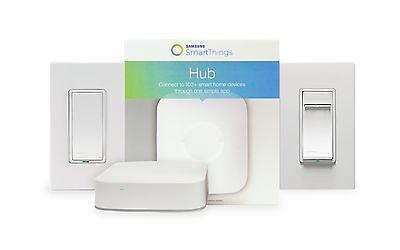 Samsung SmartThings Automation Bundle by Leviton.  Light Switches & Hub Zwave