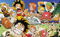 Poster A3 One Piece Luffy Pirates Títeres / Puppet -  - ebay.es