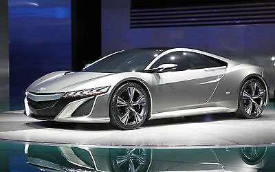 2018 Acura nsx concept mgm  24X36 inch poster, sports car