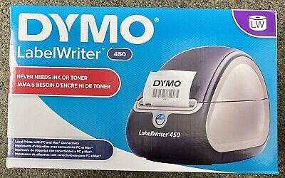 Dymo Label Writer 450 1752264 Label Printer - Blacksilver.. New In Box