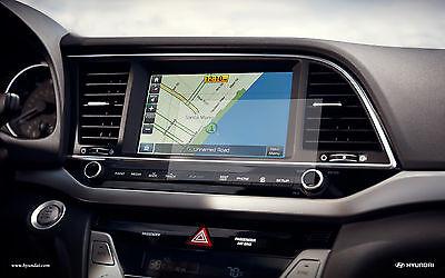 "Anti Glare Screen Protector (2x) 2014 2015 2016 2017 Hyundai Sonata 7"" Display"