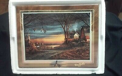Terry Redlin ceramic collector plate