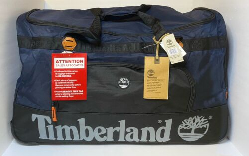 Timberland Highgate Spring Collection 30 Duffle Bag Dark Sapphire MSRP 320 - $54.99