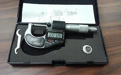 0-1 0-25mm Electronic Digital Micrometer--new