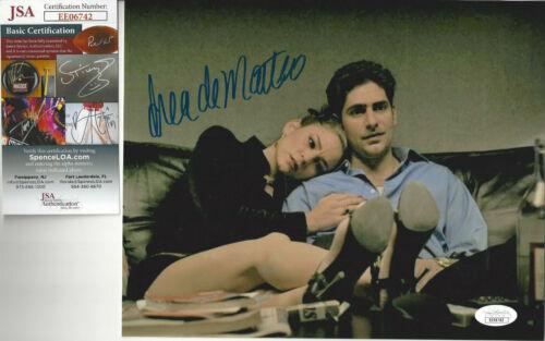 SOPRANOS Drea De Matteo autographed 8x10 photo with boy friend Michael JSA Cert
