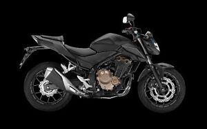 2018 Honda CB500F