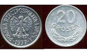 POLOGNE-20-groszy-1977