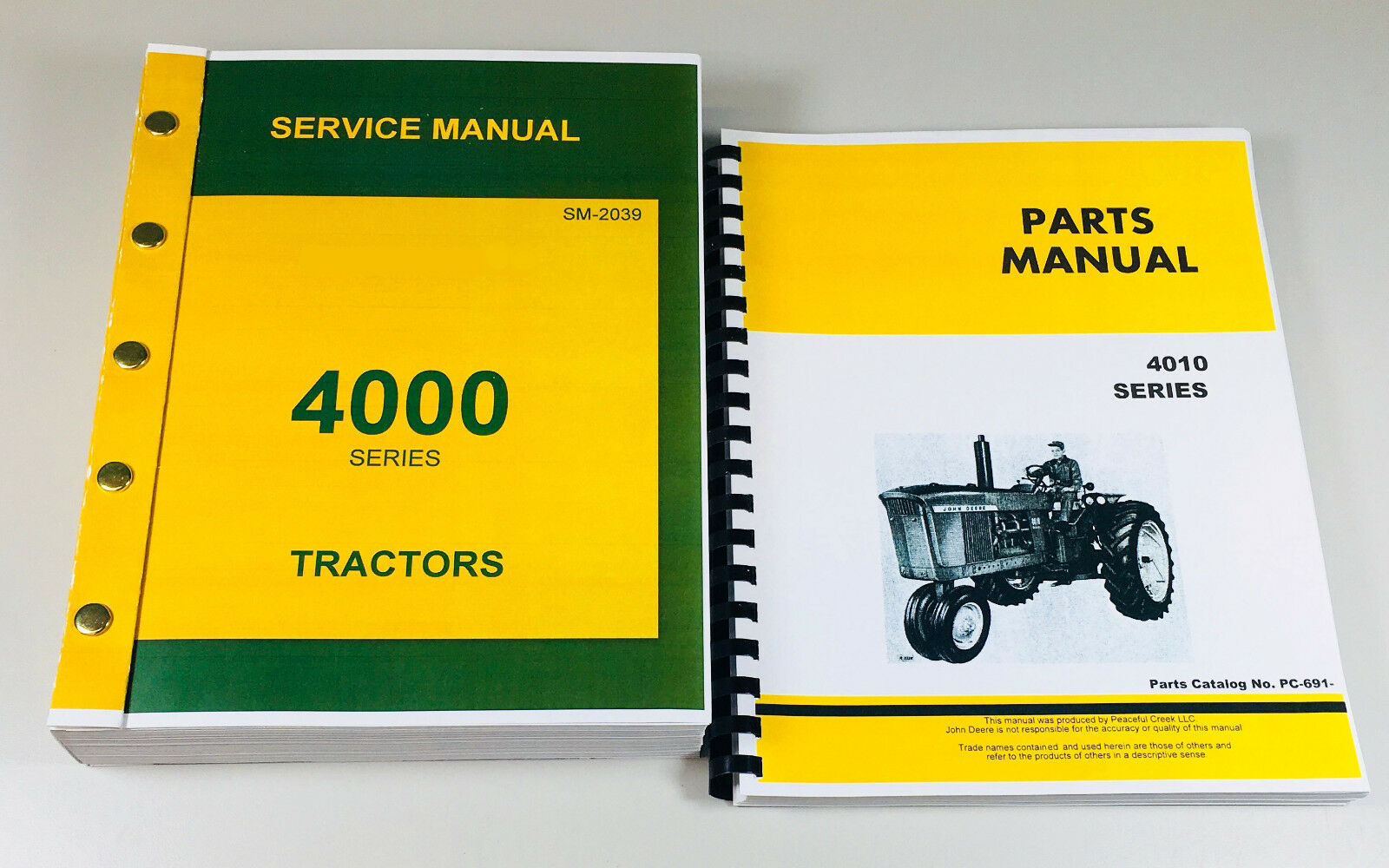 Complete Service and Parts Manuals Reproduction of the Factory Manuals