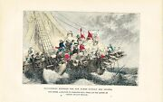 Antique Naval Print