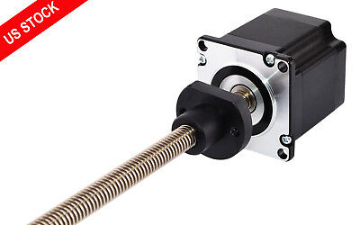 Nema 23 Stepper Motor External Linear Actuator Lead Screw Length 5.9055
