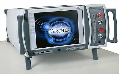 Aeroflex 7100 Radio Test Set With 14 Options. Irf Marconi