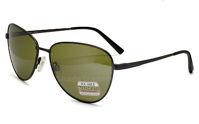 SERENGETI VENEZIA FLEX Occhiali da Sole Shiny Dark Sacher Polarized Brown Drivers 8190