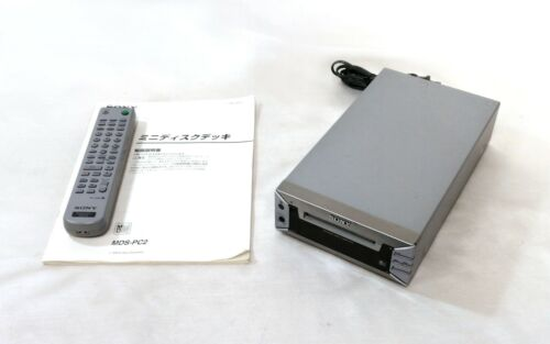 SONY MDS-PC2 MD Mini Disk Player Recorder Audio Deck  Working  JAPAN