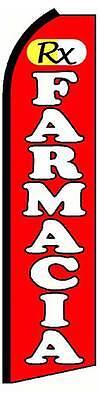 Rx Farmacia Swooper 12 Flag 15 Pole
