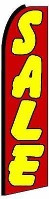 Sale Flag Only Flutter Swooper Advertising Sign 3 Wide Banner