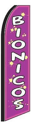 Boinicos Purple Swooper 12 Flag 15 Pole