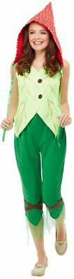 Toadstool Pixie Costume, Womens Fancy Dress, UK Size 8-10 #DE