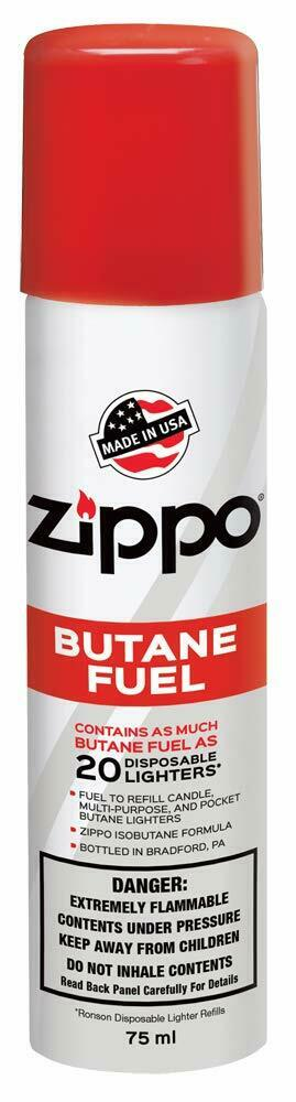 Zippo Lighter Refill Butane Fuel 75ml