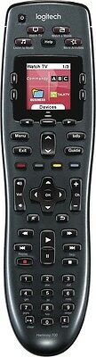 Logitech Harmony 700 Advanced Universal Remote Control 8 Device Black