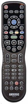 NEW ANDERIC 4-Device Universal Remote Control RR0777S Prepro