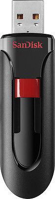SanDisk - Cruzer 256GB USB 2.0 Flash Drive - Black/Red